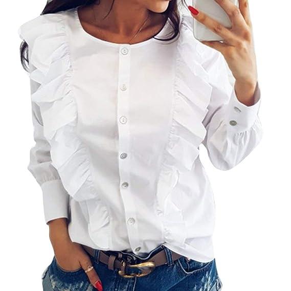 Blusas de moda de olanes