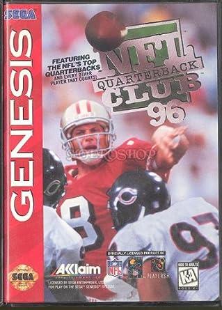 bfe6466d4 Amazon.com  NFL Quarterback Club 96 GEN  Video Games