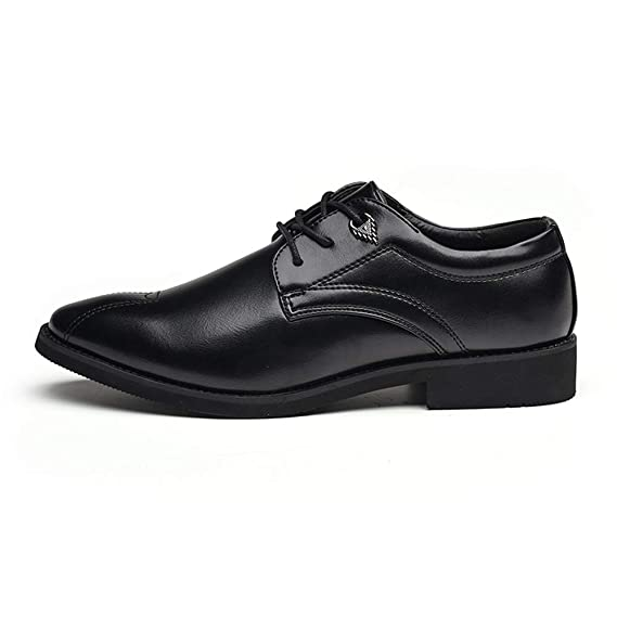 Amazon.com: Gobling Mens Classic Dress Oxford Shoe Fashion New Anti-Skid Solid Color Pointed Formal Wedding Shoes: Clothing