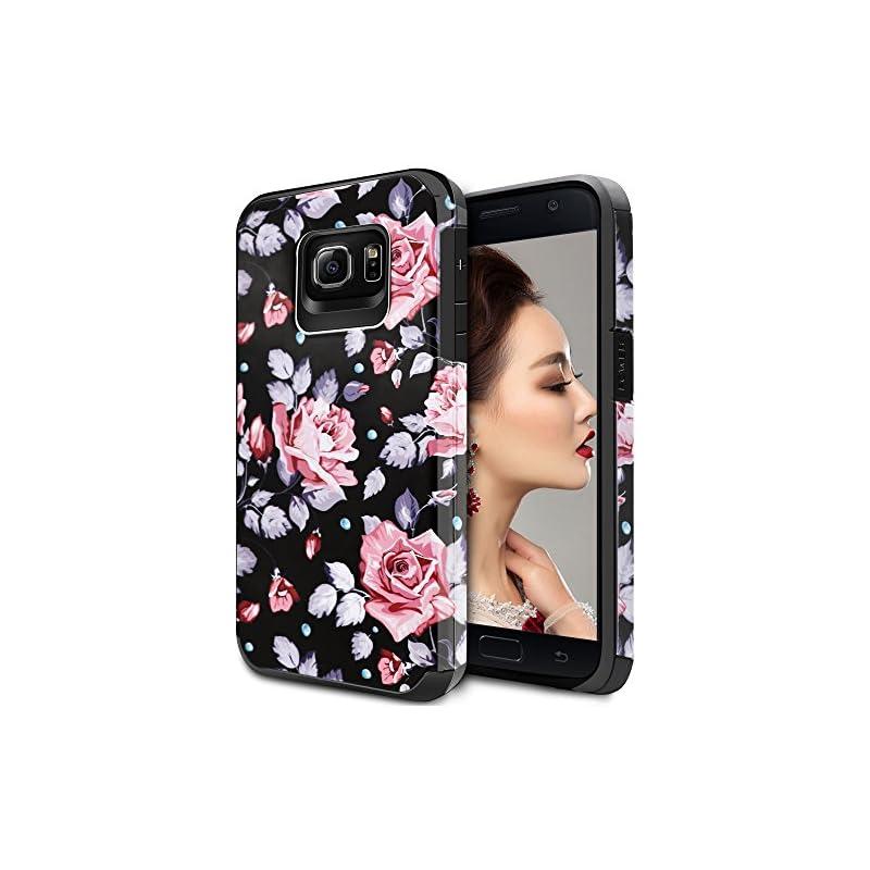 Galaxy S6 Case for Girls Women, Samsung