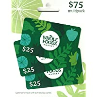 Whole Foods Market Gift Cards, Multipack of 3