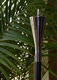 Starlite Garden and Patio Torche AKEX-PT-2602 Sleek  Polished Tuxedo Garden Torch,