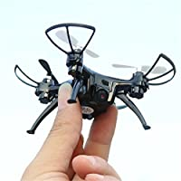 BININBOX 2.4GHz 6 Axis Gyro RC Headless Quadcopter Drone With HD Camera Training LED Flash Light Wifi 4CH Black