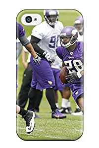 Awesome Adrian Peterson Football Flip Case With Fashion Design For Iphone 4/4s