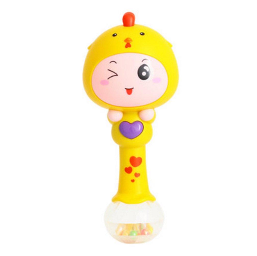 Chinese Zodiac flashlighting Rattleおもちゃ – Chick   B0755S51H5