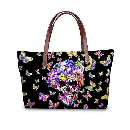 FancyPrint Wallets Handle Satchel W8ccc3532al Top Vintage Bags Women Purse Foldable Handbags EqEPxrf