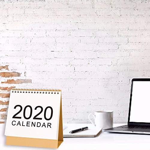 Currentiz Tischkalender 2019-2020 Stehender Tischquerkalender Querterminbuch Wochenplaner Monatsplan Aufgabenliste Schreibtischkalender Daily Für Das Home Office