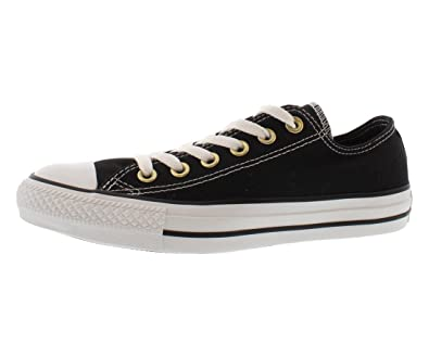 c3093c7ce527 Converse Chuck Taylor All Star Unisex Black Double Tongue with Black and  Gold Stud Detail 547218F