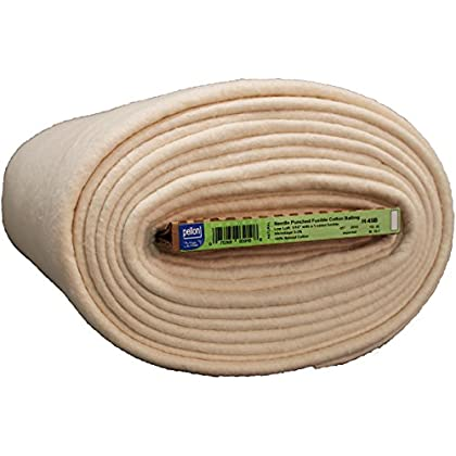 Image of Pellon H-45B FOB: MI Fusible Cotton Batting, 45' x 20 yd Batting