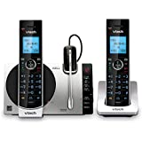 "VTech Connect to Cell DS6771-3 DECT 6.0 Cordless Phone - Black, Silver, 6.9"" x 4"" x 6.6"""