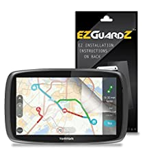 "(3-Pack) EZGuardZ Screen Protector for TomTom Go 60 6"" SatNav (Ultra Clear)"