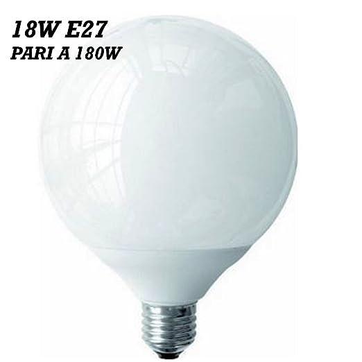 Wis-dom - Bombilla LED con ahorro de energía del 80% eficiencia energética de