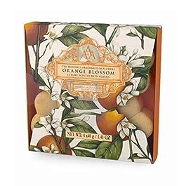 Aromas Artesanales De Antigua Orange Blossom Bath Fizzer, 4 x 40g