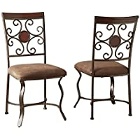 Steve Silver Company Toledo Side Chairs, Set of 2, 19 x 23 x 38