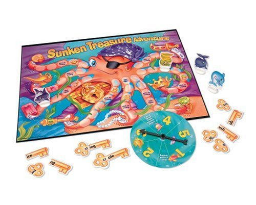 Phonics Beginning Blends - Sunken Treasure Adventureà Phonics Beginning Blends Game