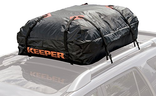 Rooftop Carrier Waterproof (Keeper 07203-1 Waterproof Roof Top Cargo Bag (15 Cubic Feet))