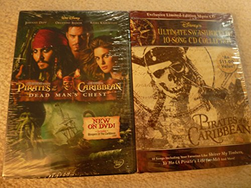 Pirates of the Carribean: Dead Man's Chest/Disney Ultimate Swashbuckler 10 Song CD Collection: Exclusive Limited-edition Music - Swashbuckler Collection