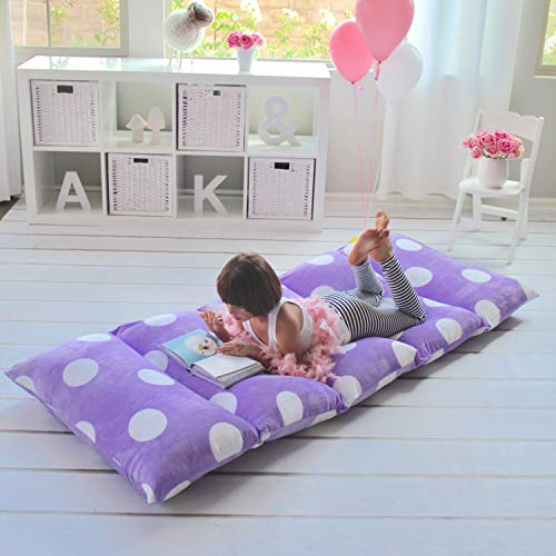Queen Size Lounger Seat Cover Purple Soft Pillow Plush Cushi