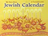 """Beautifully illustrated, 16-month, full color wall calendar for children and families, offering ample space for daily reminders and featuring all new """"fun facts,"""" photographs, recipes, and trivia for the Jewish year (September 2015-December 2..."""