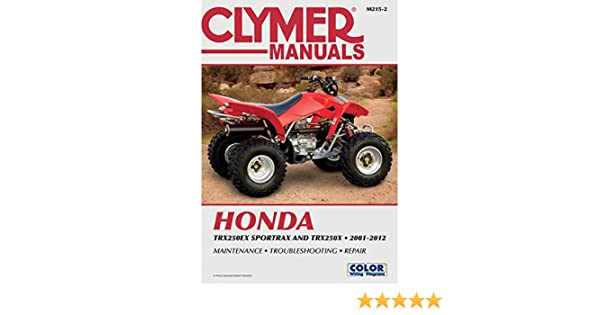 Motors Vehicle Parts & Accessories M215-2 Clymer 2001-2012 Honda ...