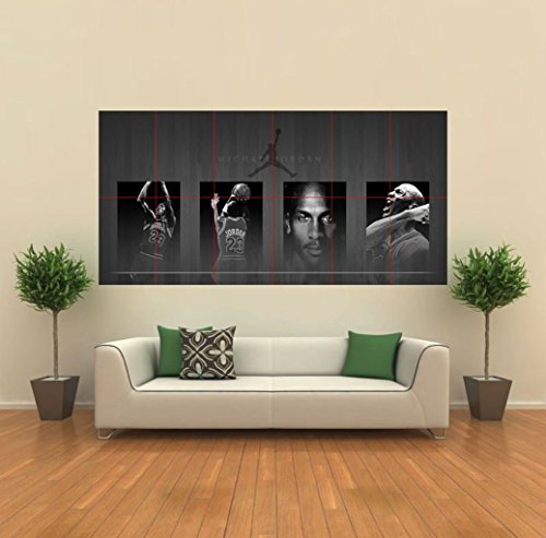 Michael Jordan Giant New Wall Art Print Poster