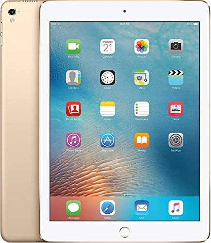 Apple iPad Pro Tablet MLMQ2LL/A 32GB WiFi 9.7in,Gold (Renewed)