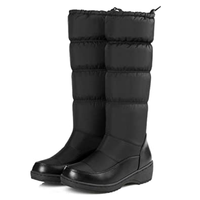 780b64cb54e Amazon.com | Womens Winter Snow Boots Insulated Weatherproof Rian ...