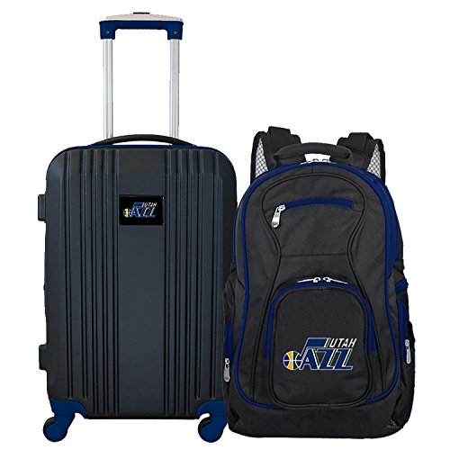 NBA Utah Jazz 2-Piece Luggage (Utah Jazz Two Piece)