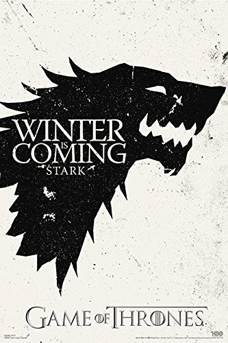 Game Of Thrones Poster Winter Is Coming Stark 61cm X 91 5cm