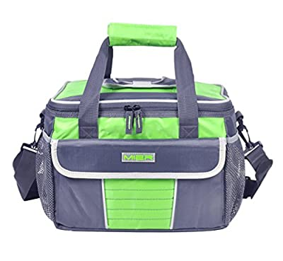MIER Large Soft Cooler Bag Insulated Lunch Box Bag Picnic Cooler Tote with Dispensing Lid, Multiple Pockets …