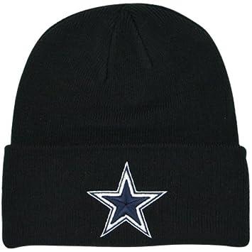 Image Unavailable. Image not available for. Color  Dallas Cowboys Basic  Knit Hat Black dbbf6816d7d5