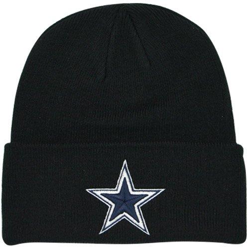 Dallas Cowboys Basic Knit Hat Black