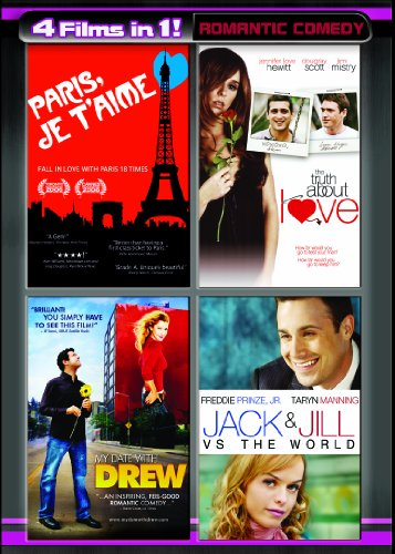 Four Movies in One: Romantic Comedy  (Paris Je T'Aime / The Truth About Love / My Date with Drew / Jack and Jill vs. The ()