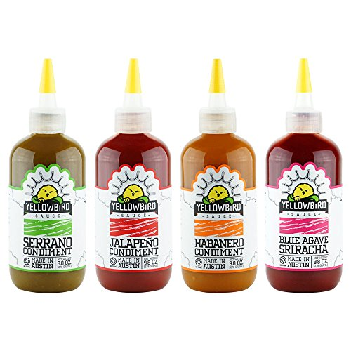 Yellowbird Hot Sauce Combo (9.8 Oz 4-Pack)