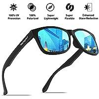 Mens Polarized–Gafas de sol MOMENTUM memoria material durable y ligero