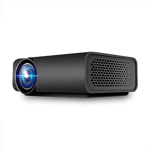 Proyector casero, Apoyo 1080 HD LED Mini proyector para ...
