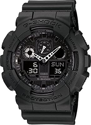 G-SHOCK The GA 100 Military Series Watch in Black,Watches for Men from G-SHOCK