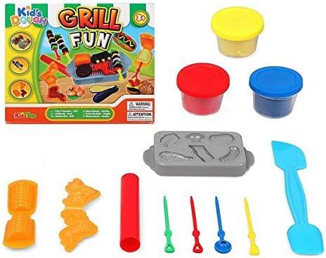 Juego de Plastilina Grill Fun 117486