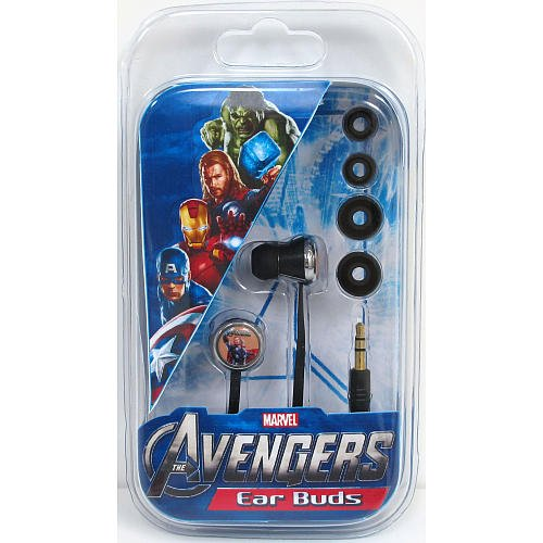 Avengers 11343 Step Up Earbuds, Mixed character