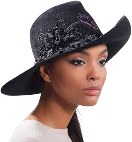 b882b06ed98 Eric Javits Luxury Fashion Designer Women s Headwear Hat - Stephanie - Black  Mix