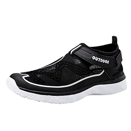 2a9d6f532feb Unisex Beach Shoes Outdoor River Shoes Women Wading Shoes Sports Shoes (Men  Black