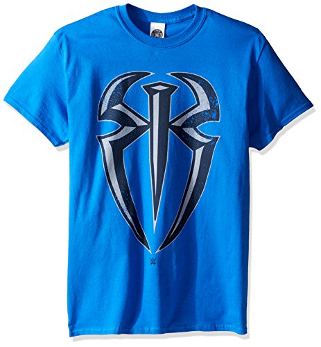 WWE Men's Roman Reigns Symbol T-Shirt, Royal, -