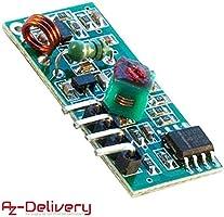 AZDelivery Modulo Set Transmisor y Receptor Inalámbrico 433MHz para Raspberry y Arduino con E-book incluido!: Amazon.es: Industria, empresas y ciencia