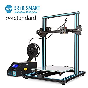 SainSmart x Creality CR-10 Semi-Assembled Aluminum 3D Printer with Extra Filament, Large Print Size 300x300x400mm by SainSmart