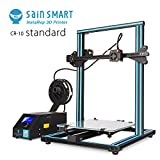 SainSmart x Creality CR-10 Semi-Assembled Aluminum 3D Printer with Extra Filament, Large Print Size 300x300x400mm