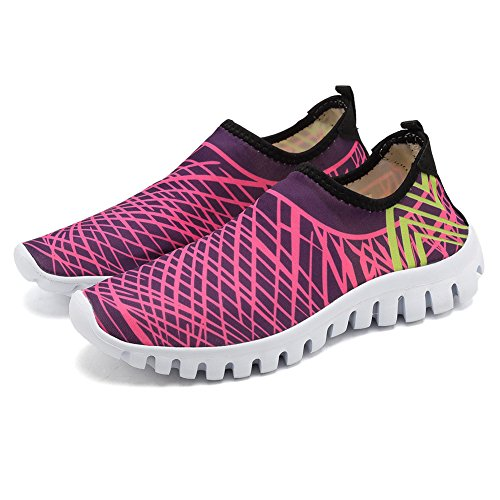CIOR Quick-Dry Water Sports Shoes Men and Women's Multifunctional For Swim Walking Yoga Lake Beach Garden Park Driving Boating Lx.pink 1igKH1M