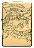 Dragon Armor Heavy Zippo Outdoor Indoor Windproof Lighter Free Custom Personalized Engraved Message Permanent Lifetime Engraving on Backside