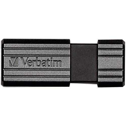 Verbatim 128GB Pinstripe USB Flash Drive - Black