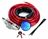 StreetWires ZN3K-00 Zero Noise ZN3 Amp Kit, 1/0 AWG (Red)