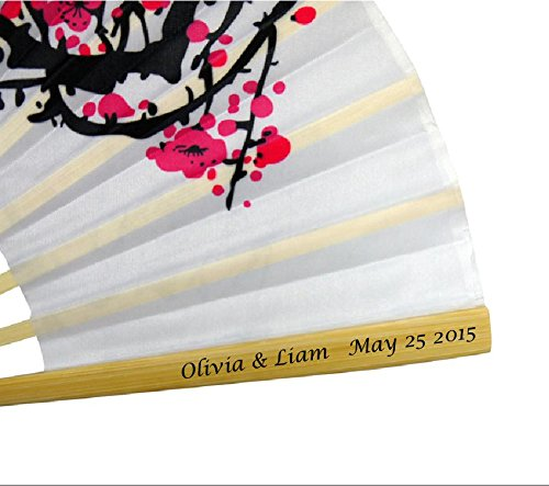 Personalized Cherry Blossom Fan - 8